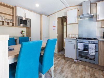 Kitchen caravan park home near Fylde Coast