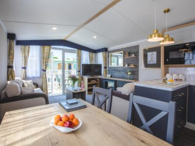 Dining room caravan park home Fylde Coast