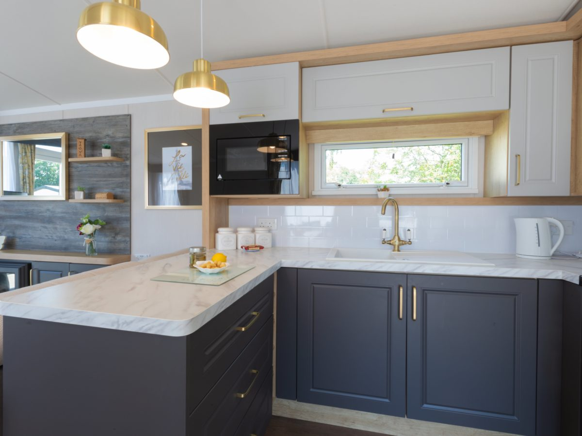 Kitchen caravan park home Fylde Coast