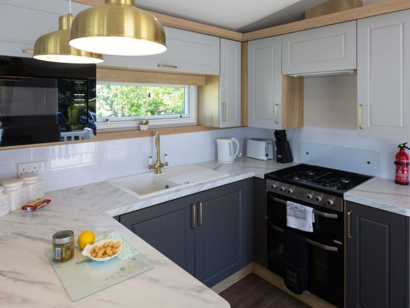 Kitchen caravan park home near Lytham