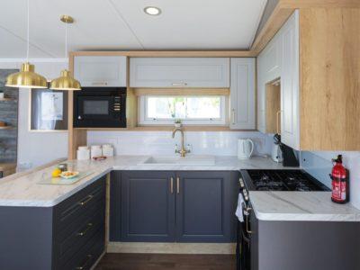 Kitchen caravan park home near Lytham