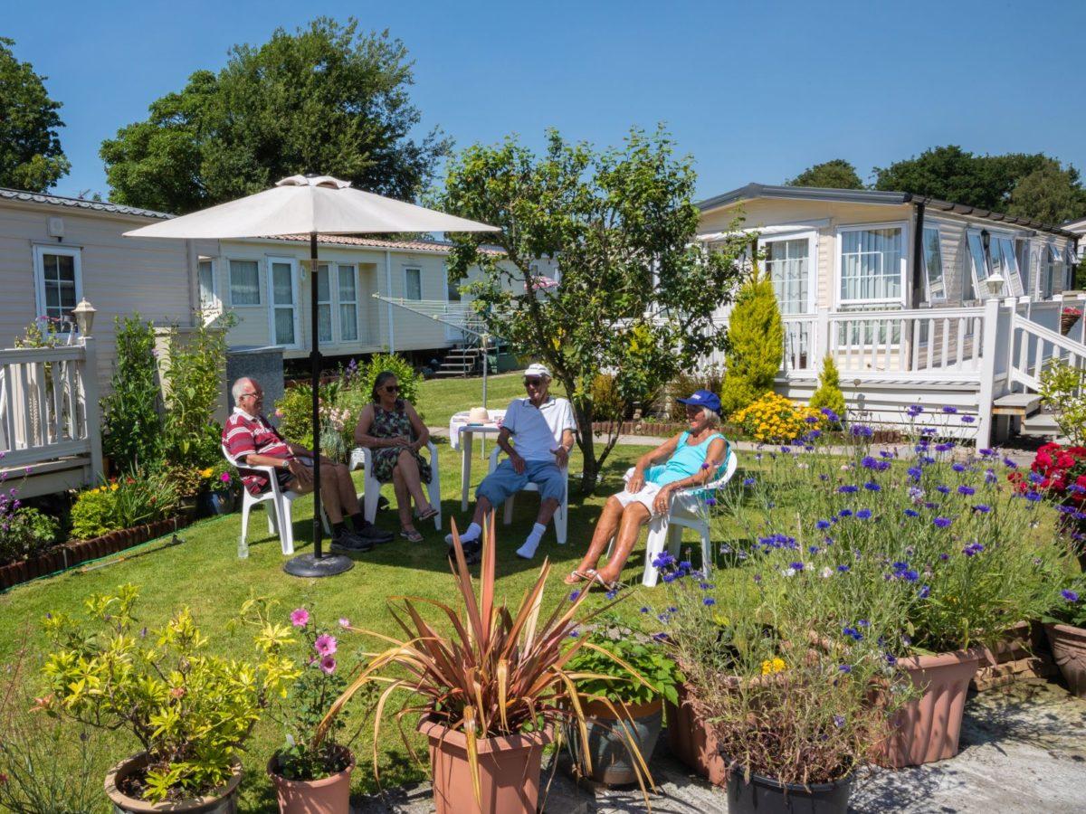 Caravan home owners near Fylde Coast