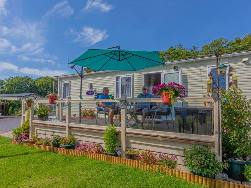 Caravan park home near Fylde Coast